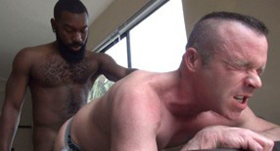interracial hardcore gay dudes
